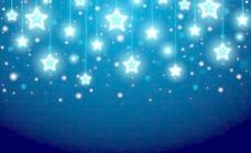 圣诞背景与光点矢量集03