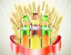 创意啤酒海报矢量集01