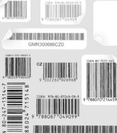 组与条形码标签