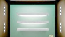 商店的橱窗照明设计元素矢量02