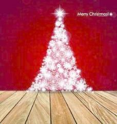 地板和圣诞背景矢量集01