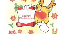 圣诞贺卡表达载体。