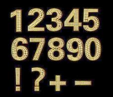 钻石和黄金的符号矢量数