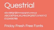 现代的字体设置