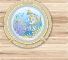 美丽的海底世界02元矢量