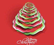 创意的圣诞树矢量素材12