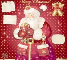 美丽的圣诞贺卡02矢量素材