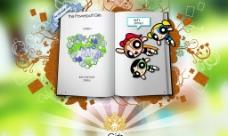 卡通网站首页图片