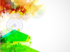 创新的旗帜波背景颜色