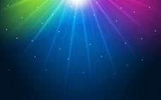 炫彩彩色背景图