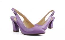 紫色单鞋图片