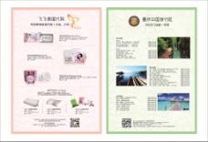代购旅游双面宣传单