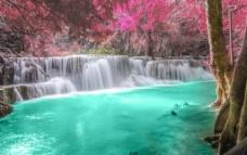 泰国 通塞瀑布图片