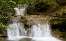 低矮 瀑布图片