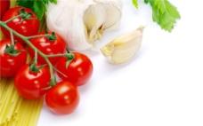 西红柿 大蒜图片