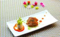 鸭胸 西餐 牛排图片