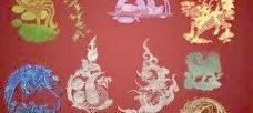 中国吉祥花纹笔刷 下载