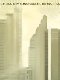 城市建筑笔刷 下载