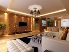 大气稳重的客厅装饰