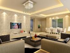 现代客厅装修风格