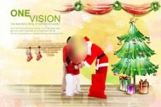 彩绘圣诞老人图片