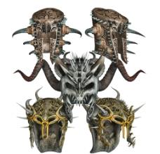 武士头盔素材图片