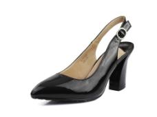 黑色女鞋图片