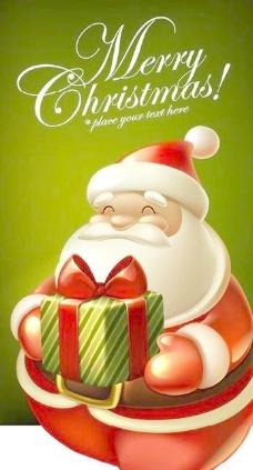 可愛的圣誕矢量素材02