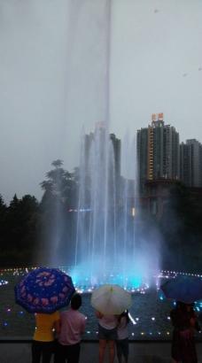 喷泉摄影图片