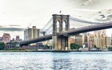纽约布鲁克林大桥图片