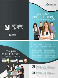 商务广告传单海报图片