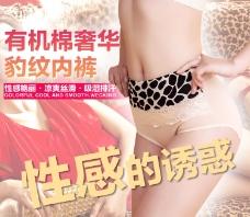 内裤促销海报设计
