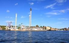 海滨游乐场图片