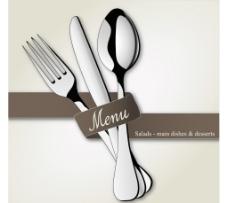 刀叉勺子图片