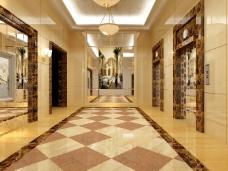 大气时尚的走廊设计
