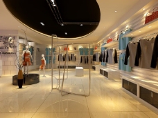 时尚的服装店设计