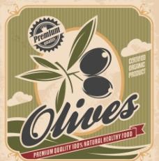 复古食品海报图片