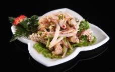 泰式酸辣鱿鱼沙拉图片