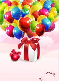 气球背景图片