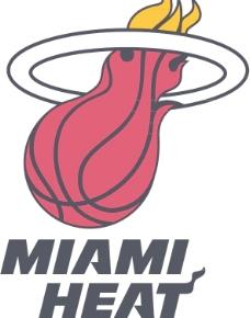 Miami Heat标志图片