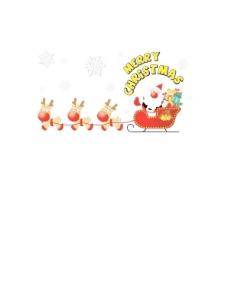 韩国圣诞老人送礼物AI矢量源码