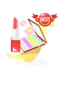韩国化妆品图标AI矢量图
