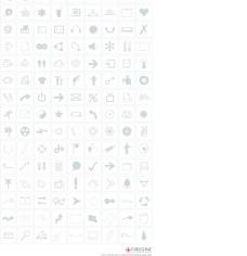 135个黑白电子商务常用图标