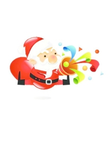 韩国圣诞老人矢量源码