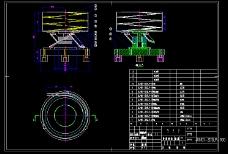 振动送料盘装配图