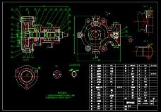 循环冷却水泵装配图