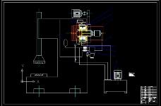组合式离合器制动器(装配图)