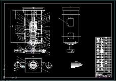 JXS001换刀机械手装配图
