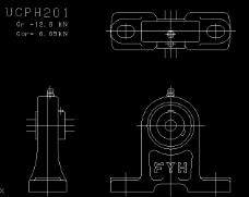 UCPH型带座轴承套图
