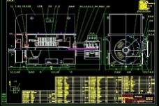 YRKK450-4 6kV电机 装配图